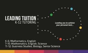 LeadingTuition Business Card #1